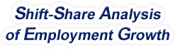 Shift-Share Analysis of Maryland Employment Growth and Shift Share Analysis Tools for Maryland